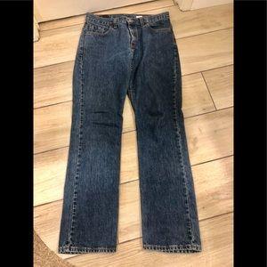 505 slim fit straight leg 11 jr m Levis jeans